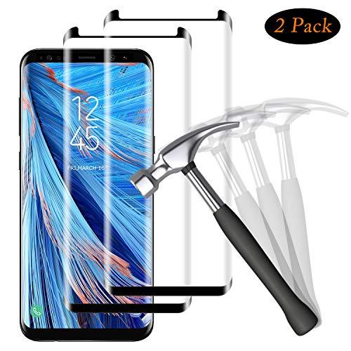 bon comparatif Verre trempé NUOCHENG pour Samsung Galaxy S8 Plus [2 pièces] Plafond 3D incurvé de haute qualité… un avis de 2021