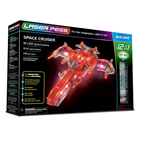 Laser Pegs 12010 Space Cruiser 12 1 Set construcción