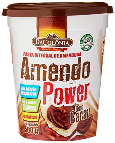Amendopower Pasta De Amendoim Com Cacau Zero 500G
