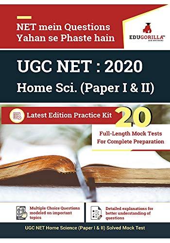 UGC NET Home Science: 2020 | 20 Full-length Mock Test (Paper I & II)