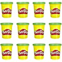 12-Pack Play-Doh Bulk Green Non-Toxic Modeling Compound, 4-Ounce Cans