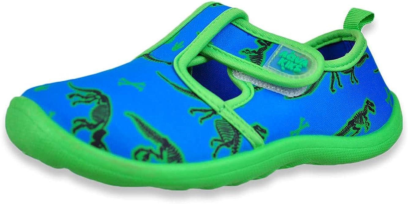 Aqua Kiks Boys' Dinosaur Water Shoes