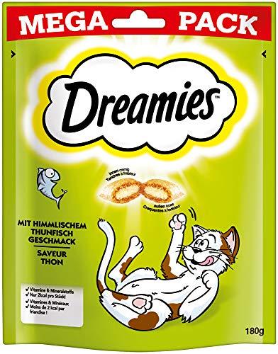 Dreamies Mega Pack Katze Behandelt Mit Thunfisch 180G