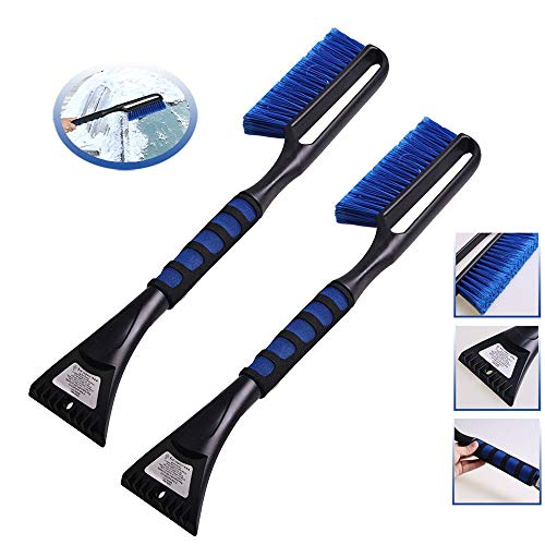 Sale!! Snow Brush, Long Handle Winter Snow Shovel Car with Cotton Handle 2 in 1 Ice Shovel Snow Brus...