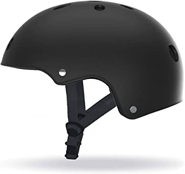 SCOOTY - Casco para patinete, hoverbaord, skate, patinaje, talla M, color negro