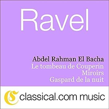 Maurice Ravel, Miroirs