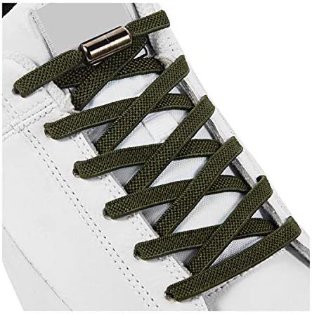 No Tie Elastic Shoe Laces Shoelaces for Kids Adults and Elderly Elastic Athletic Running Shoe product image