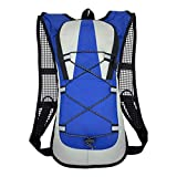 WUSSCO Cycling Backpack Bike Bag Ultralight Pouch Outdoor Hiking Bicycle Rucksack (blue)