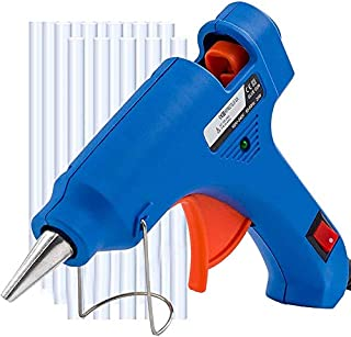 FEDUS glue gun with 10 glue sticks, for Gluing Crafts, Small Art Projects, Heavy Duty Mini 40W High Temp Pen for Crafting,...