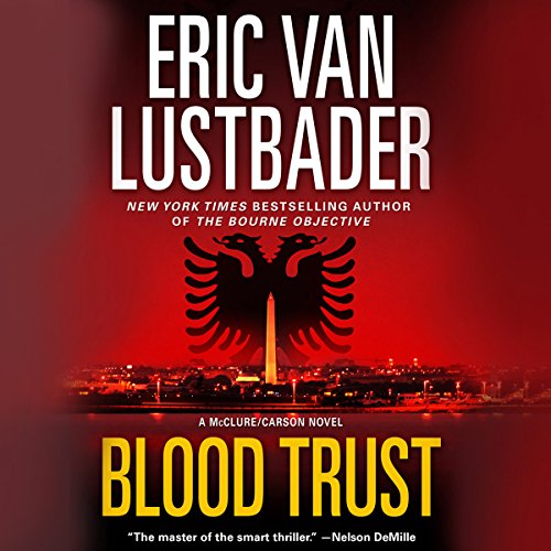 Blood Trust audiobook cover art
