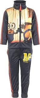 Minion Boys Tracksuit Set Sportswear - Grey - 3-4 Years