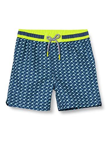 ESPRIT Bodywear Jungen FAROS Bay MB Shorts Boardshorts, 401/NAVY 2, 140/146