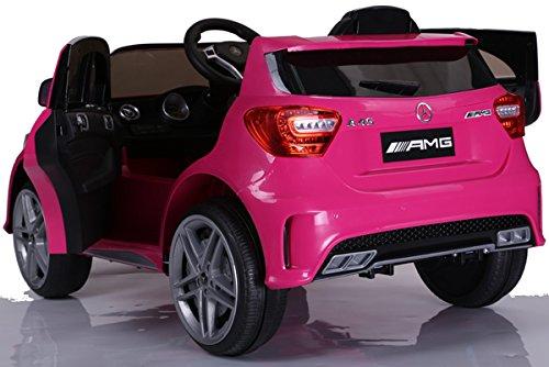 RC Kinderauto kaufen Kinderauto Bild 1: SIMRON - Mercedes-Benz A45 AMG SUV Ride-On 12V Kinderauto Kinderfahrzeug (Schwarz)*