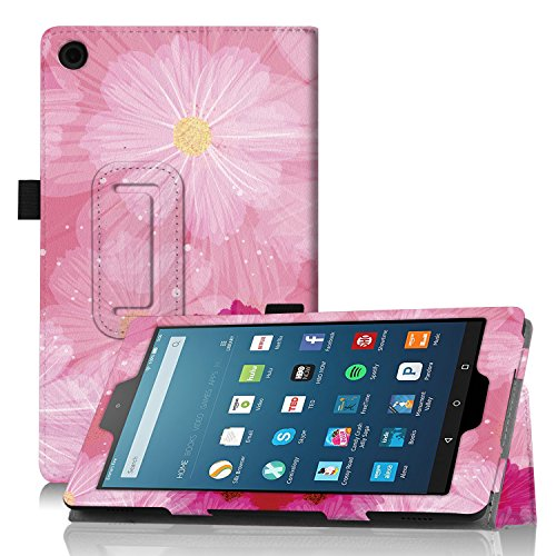 wizfun Folio Case Cover con auto sleep/wake para 8