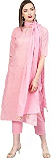 GoSriKi womens Kurta and Palazzos & Dupatta