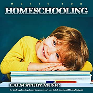 Music For Homeschooling: Calm Study Music For Studying, Reading, Focus, Concentration, Stress Relief, Anxiety, ADHD Aid, Study Aid