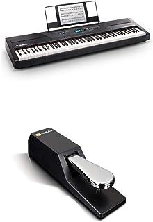 Digital Piano Bundle - Electric Keyboard with 88 Weighted Ke