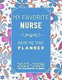 Five year planner 2022-2026: 5 Year Calendar 2022-2026   Agenda Schedule Organizer   60-Month Calendar, ( Size: A4 )   Gift Idea For Coworker Colleague women