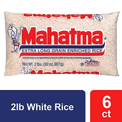 Mahatma Langkornweißer Reis, 900 ml, 6er-Pack