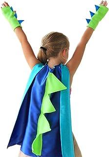Ububiko Kostium smok Halloween Tyranozaur Superbohater garnitur peleryna z rękawiczkami karnawał impreza małe dzieci kosti...