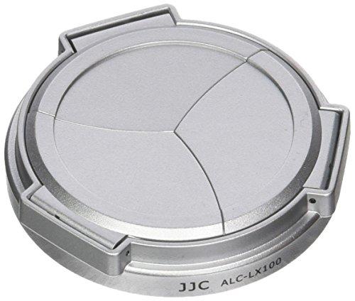 JJC Automatik-Objektivdeckel für Kamera Panasonic DMC-LX100,Silber