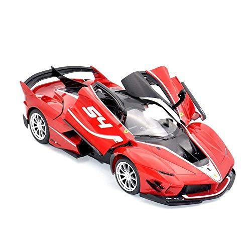 Coche con control remoto, coche con control remoto para niños, coche de juguete, carga USB, modelo de coche de deriva de alta velocidad, puerta que se puede abrir, carrocerías de vehículos RC, coche