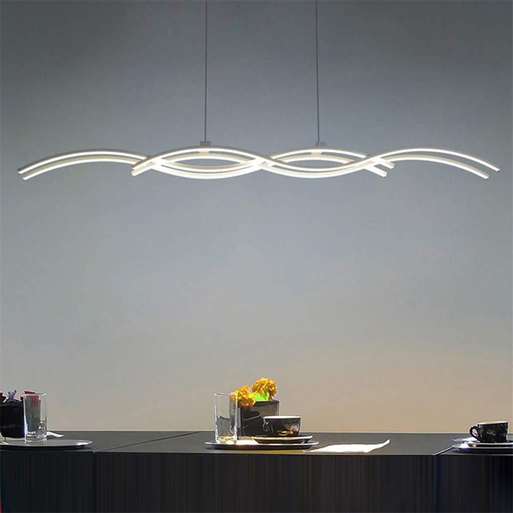 Lingkai L/ámpara colgante de /ángulo ajustable de madera l/ámpara colgante retro l/ámpara de techo 20 W blanco//c/álido//blanco c/álido color L/ámpara LED colgante de mesa de comedor Lingkai estilo A