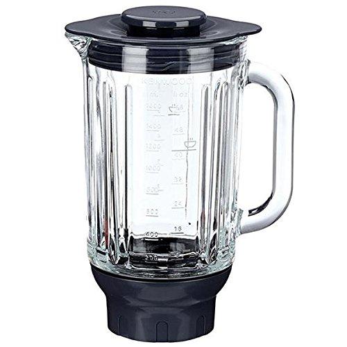At358 – Standmixer aus Glas, 1,6 l, hitzebeständig, für Küchenmaschine Kenwood KM310 Chef
