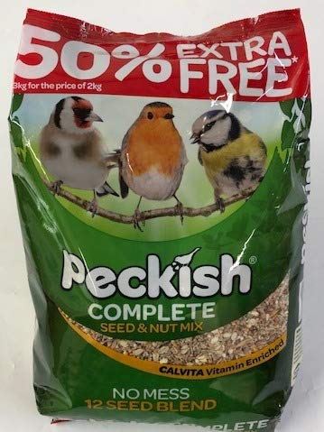 Peckish Complete 2Kg + 50 Percent Extra Free