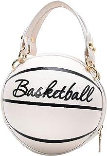 Modische Umhängetasche für Damen, Umhängetasche im Basketball-Stil, aus PU-Leder, für den Alltag