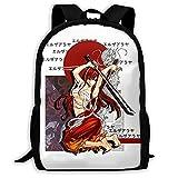 Anime & Fairy Tail & Scarlet Cherry Erza Scarlett Tapestry The Hedgehog 11 Backpack Shoulder Bag Travel Bags Laptop Bag School Bag For Boys Girls