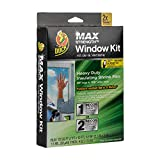 Duck Brand 284352 Heavy-Duty Shrink Film Indoor Window Insulation Kit, 84-Inch x 120-Inch