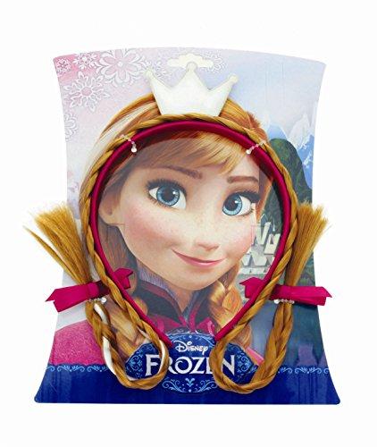Disney - 887502 - Frozen - Serre Tête Anna avec Cheveux