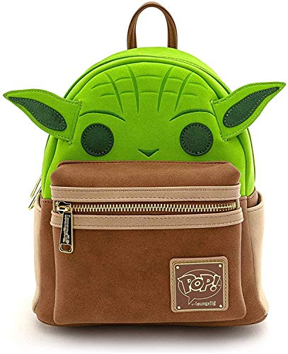 Loungefly Pop Yoda Cosplay Mini Backpack