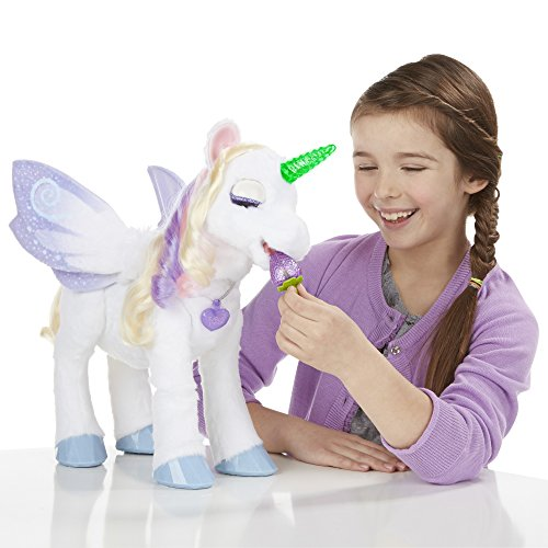 StarLily My Magical Unicorn is one of the top interactive stuffed animals for kids