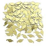 Creative Converting Graduation Caps Confetti, Yellow