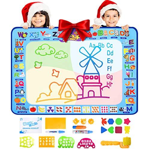 Balhvit Kids Toys Aqua Magic Doodle Mat Educational Toddler Toy