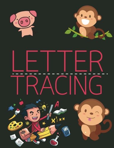 Letter Tracing: Lowercase & Uppercase A-z; Handwriting Practice Book for Kids Age 3-5 Year; Alphabet Writing Practice: Volume 1