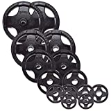 Body-Solid Rubber Grip Olympic Plates (ORST355)
