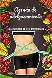 Agenda de adelgazamiento: Cuaderno prerrellenado para poner tu seguimiento de dieta durante 60 días