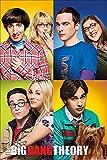 1art1 Big Bang Theory - Mosaico Poster 91 x 61 cm