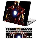 Funda Dura MacBook Pro 13 Retina A1502 / A1425,Plástico Rígida Carcasa Duro y Cubierta del Teclado EU para 2012-2015 MacBook Pro 13 Pulgada - DH16 Ironman
