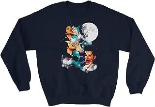 Vintage Parks&Recreation Jean Ralphio The Woooorst Retro Three Jean Moon Sweatshirt