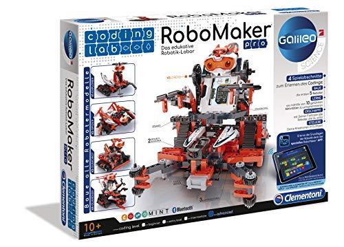 Clementoni-Clementoni-59078-Robomaker Robomaker Robot per Bambini, Colore Assortiti, Norme, , Versione Tedesca