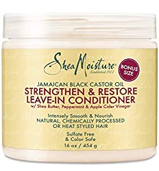 SheaMoisture Jamaican Black Castor Oil Strengthen & Grow Leave-In Conditioner