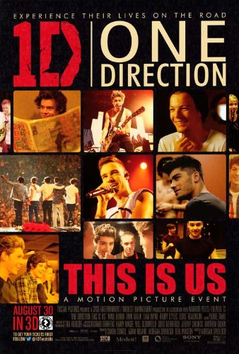 One Direction (2013) 27 x 40 Movie Poster Liam Payne, Harry Styles, Zayn Malik, A