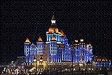 NHJUIJ Puzzle 1000 Piezas Puzzle Rompecabezas de Catedral Rusa de San Miguel Arcángel Sochi Adultos Juego de Ejercicio Cerebral Juego