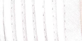 Wrights 117-303-030 Fita de viés de tubulação, branca, 2,5 m