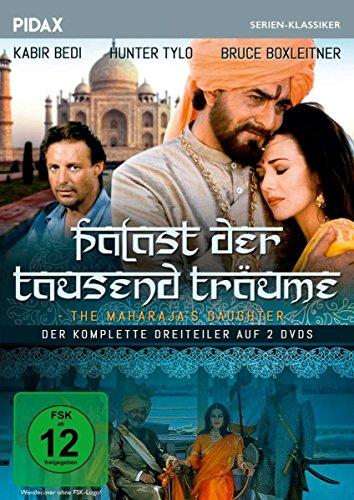 Palast der tausend Träume (The Maharaja\'s Daughter) / Der komplette Abenteuerdreiteiler mit Starbesetzung (Pidax Serien-Klassiker) [2 DVDs]