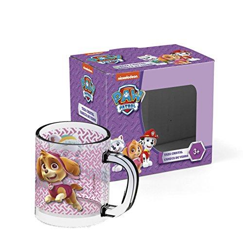 Familie24 Tasse Auswahl Kaffeetasse Tasse Kaffeebecher Becher Glas Micky Maus Minnie Maus Paw Patrol Spiderman (Paw Patrol Girl)